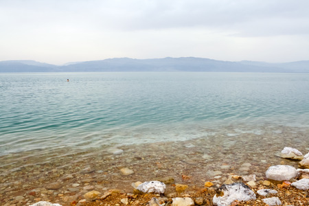 Dead Sea, seen from Israel photo