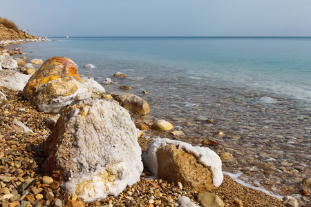 Dead Sea, Israel photo