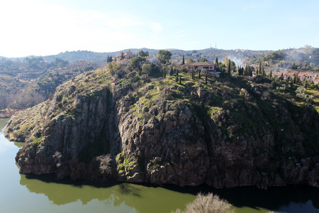 tagus: Tagus River, Spain