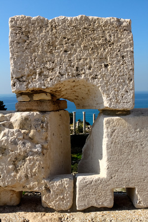 ���archeological site���: Byblos Archeological Site, Lebanon Stock Photo