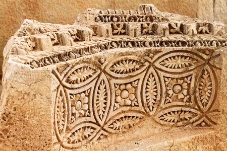 Relief, Palmyra historic site Stock Photo