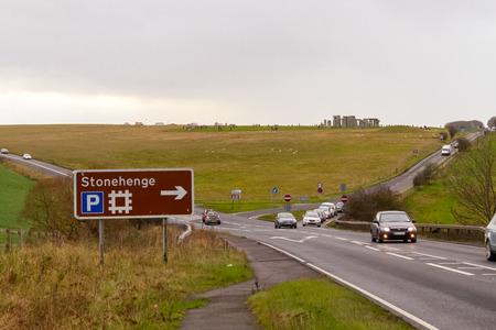 In und um Stonehenge, England Standard-Bild - 44926827