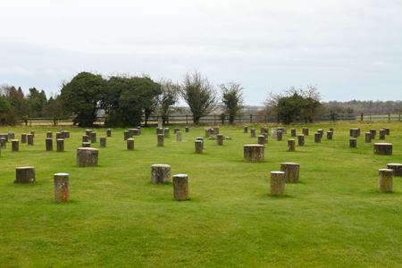 Woodhenge, England Standard-Bild - 45029581