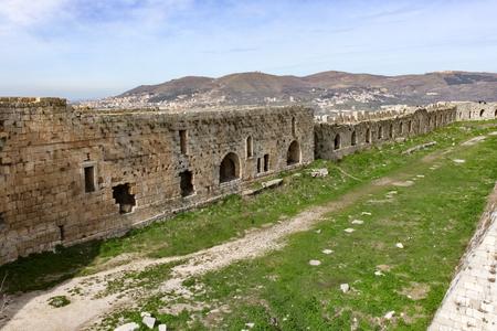 des: Krak des Chevaliers, Syria