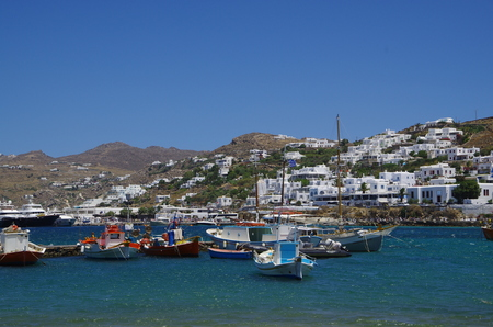 Port of Mykonos, Greece