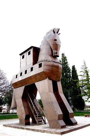 Cavallo di Troia - Troy, Turchia