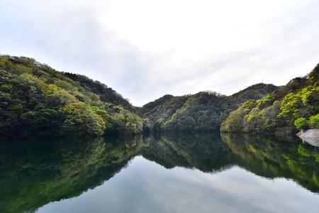 Mirror Reflection in dam
