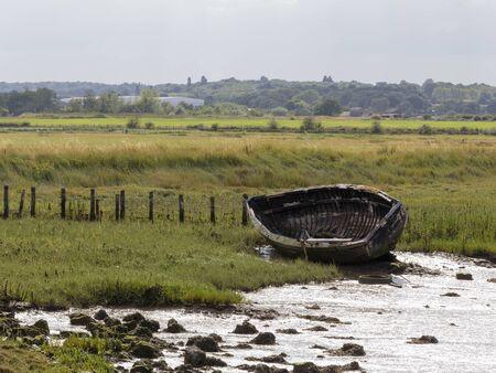 Old rowboat, Faversham, England, United Kingdom