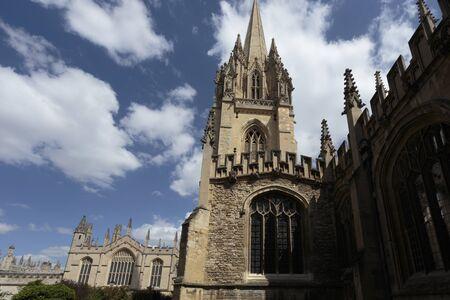 University Church of St Mary the Virgin, Oxford, Oxfordshire, England, United Kingdom Stock Photo