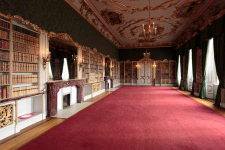 Room in Wrest Park Mansion House, near Silsoe, Bedfordshire, England
