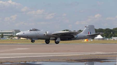 English Electric Canberra PR9, Farnborough International Airshow, Farnborough Airport, Rushmoor, Hampshire, England