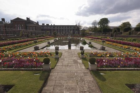 Sunken Garden, Kensington Palace, Hyde Park, London, England, United Kingdom