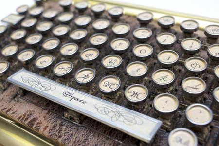 typer: Antique Qwerty Typewriter