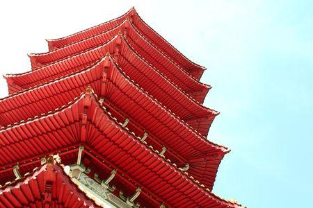 underbelly: Un underbelly vista di un tempio cinese