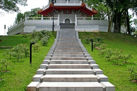 Stairway to peace and serenity photo