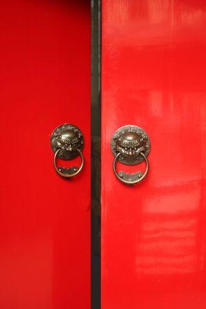 abriendo puerta: Tradicionales de Asia apertura de puertas.