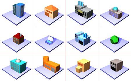 quartier g�n�ral: Une s�rie dobjets pour des diagrammes de gestion de cha�ne dapprovisionnements et dindustrie sest reli�e.