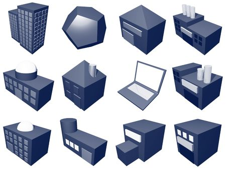 suppliers: A series of objects for supply chain management diagrams and industry related.