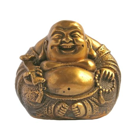 enhancer: Laughing Buddha in a Sphere Shape Stock Photo