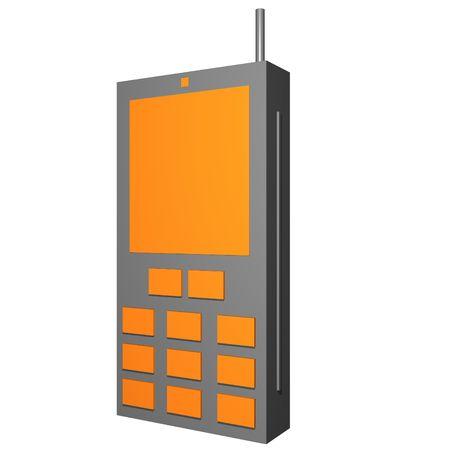 cel: Telefono cel Business Office simboli per diagrammi e presentazioni