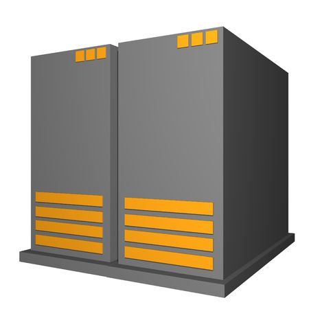 Server for business office symbols for diagrams and presentations