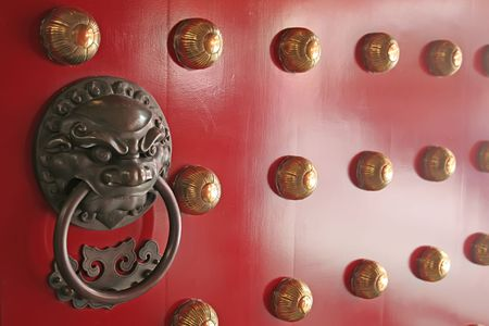 Chinese Door photo