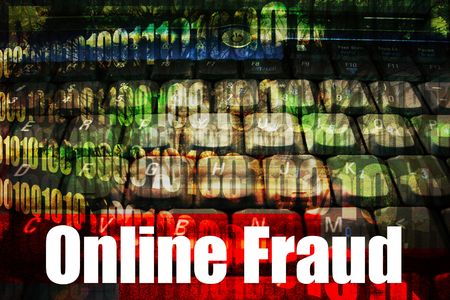Online Fraud, a hot online web security topic for the internet photo