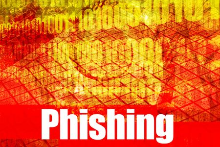Phishing, a hot online web security topic for the internet photo
