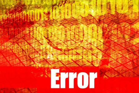 Error System Message Abstract Technology Background photo