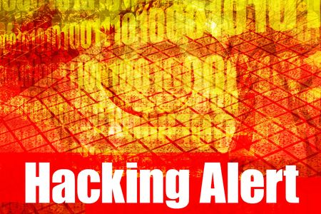 Hacking Alert System Message Abstract Technology Background photo