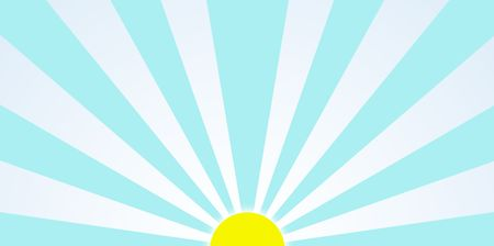 Sunrise in the morning generic clipart Stock Photo - 2824044