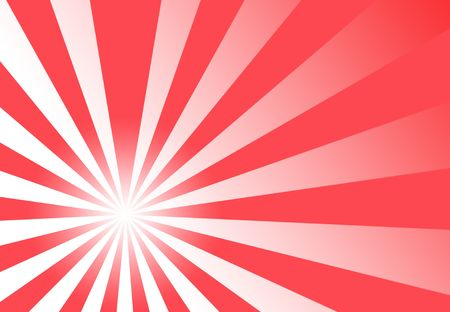 rays: Trendy generic red wallpaper clipart with template focus Stock Photo