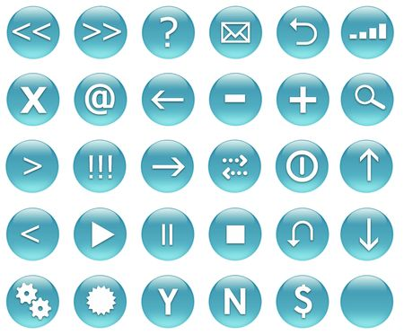 Navigation Icons for Applications and Web collection photo