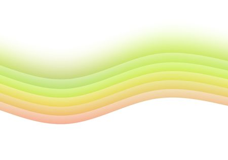 soothing: Zen Soothing Rainbow Abstract art with white background