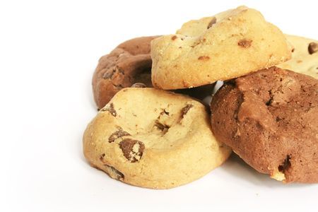 sugary: Cookies and Biscuits The Ultimate Sugary Treat on White Plate