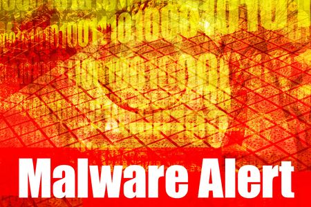 adware: Malware Alert System Message Abstract Technology Background
