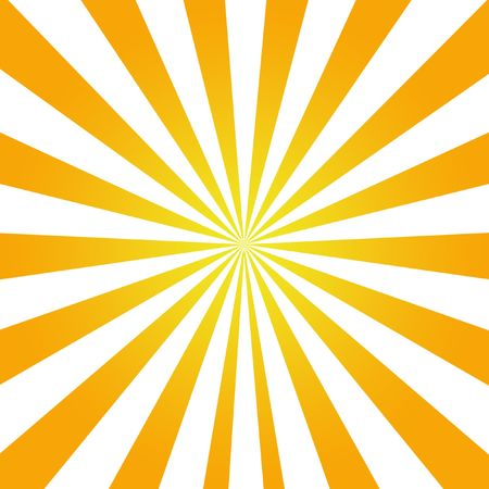 Sunrays Sunflare Texture Background in orange and white Stock Photo - 2977902
