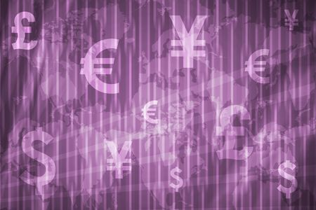 Banking and Wealth Abstract Background in Purple Colors photo