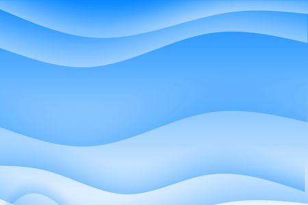 soothing: Abstract blue wavy soothing background in gradients Stock Photo
