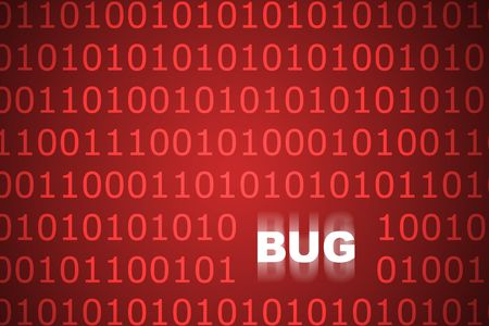 adware: System Bugs Abstract Background in Web Security Series Set