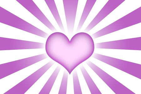 corazon: Heart Shaped Abstract Background Wallpaper in Purple Stock Photo