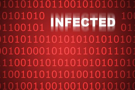 Infected Code Abstract Background in Web Security Series Set photo