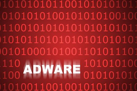 Adware Abstract Background in Web Security Series Set photo