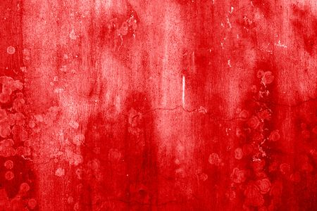Blood Stained Wall From a Horror Movie Abstract Background Stock Photo