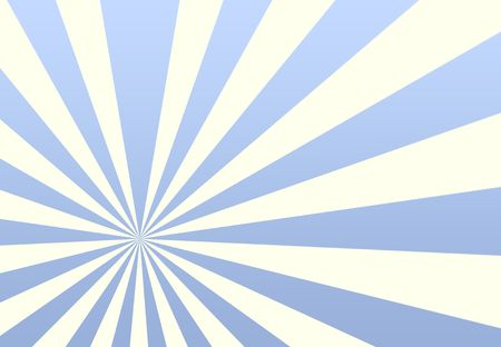 radial: Sunrays Sunflare Texture Background in blue and white Stock Photo