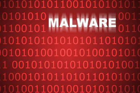 Malware Abstract Background in Web Security Series Set photo