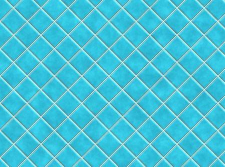 Blue Bathroom Tiles in Abstract Diagonal Background photo