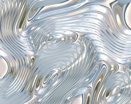 shiney: Liquid Metal Abstract Background with Fluid Ripples
