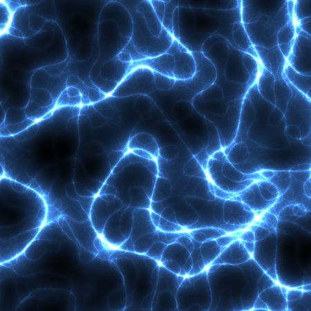 Electrical Storm Abstract Background in Black and Blue photo