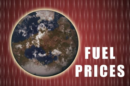 Fuel Prices Increasing Rapidly on a Global Scale Stock Photo - 3281861